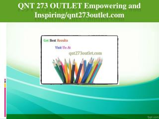 QNT 273 OUTLET Empowering and Inspiring/qnt273outlet.com