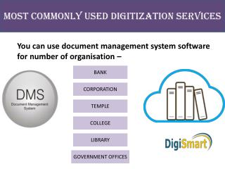 Most imporatant Services of Bank Document Management System Software