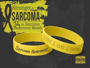 Raise Awareness of Sarcoma With Custom Bracelets