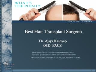 Best Hair Transplant Surgeon Delhi, Scalp Reductio Surgery  in Delhi