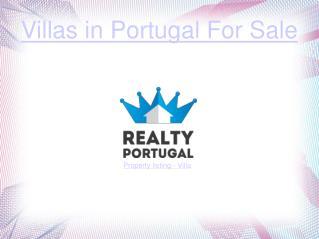 Villas in Portugal For Sale