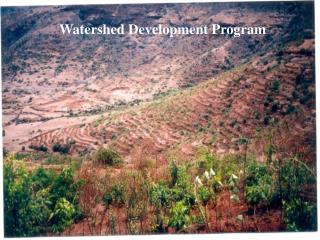Watershed Development Program