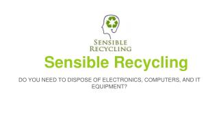Electronic Recycling Jacksonville - Need of The Hour