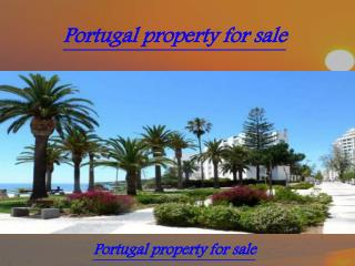 Portugal property for sale