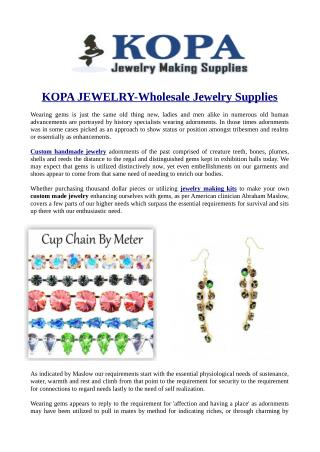KOPA JEWELRY-Wholesale Jewelry Supplies