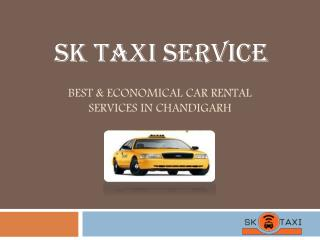 Best & Economical Taxi Services in Chandigarh