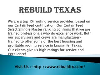 Plano roofing repair contractor