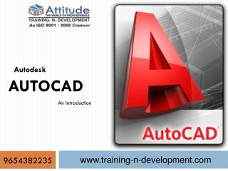 Best AutoCAD Courses in Delhi Yamuna Vihar