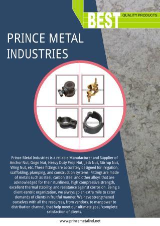 Prince Metal Industries Punjab India