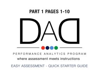 Ease your learning process, make an assessment profile with assessment disks
