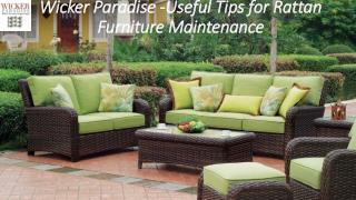 Wicker Paradise Shop all Finest quality Wicker Furniture