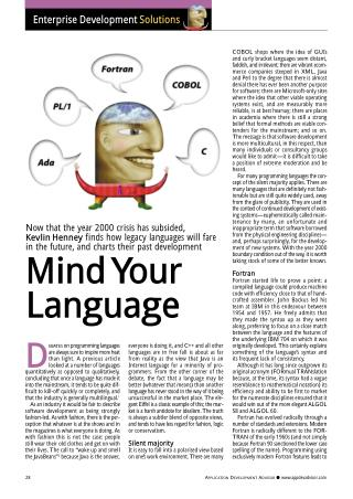 Mind Your Language
