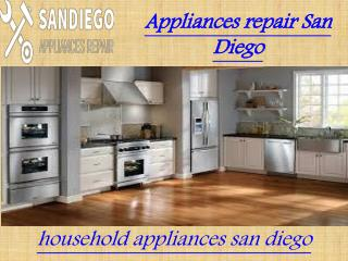 Home appliances repair san diego