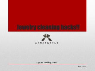 How to Clean Jewellery at Home - Jewelry Cleaning Tips