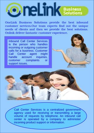 Cost Effective Inbound Call Center Services