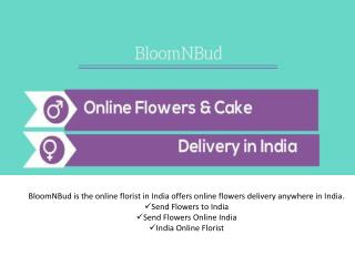 Send Flowers and Cake in India