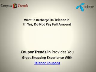 Mobile Recharge Offers & Coupons