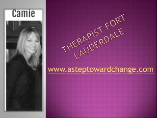 Therapist Fort Lauderdale