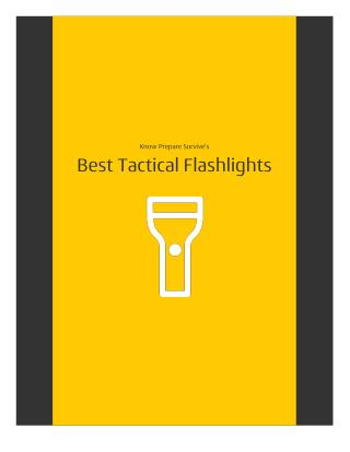 2016 Tactical Flashlight Buying Guide