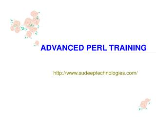 Advance Perl Online training | Online Advance Perl Training in Hyderabad