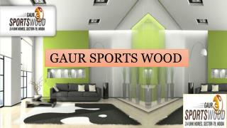 Find Perfect Apartments at Gaur Sports Noida