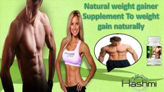 Natural weight gainer- Reviews