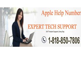 1-818-850-7806 Apple Technical Support Phone Number