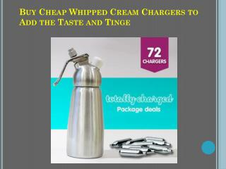 Whip Cream Chargers Bulk