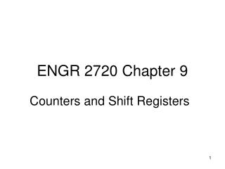ENGR 2720 Chapter 9