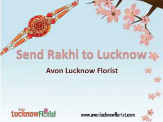 Send Rakhi to Lucknow
