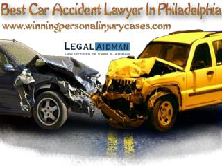 How The Best Car Accident Lawyer In Philadelphia Can Help You?