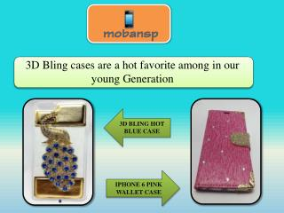3D Bling cases are a hot favorite among in our young Generation