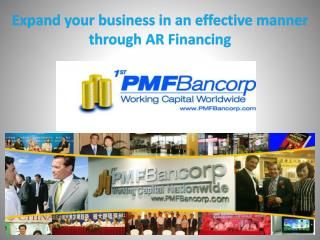 Expand your business in an effective manner through AR Financing