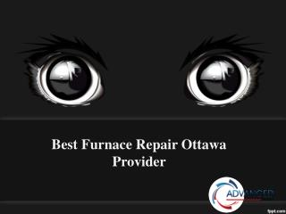 Best Furnace Repair Ottawa Provider