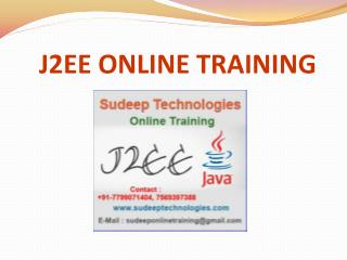 j2ee online training course in hyderabad|india|uk