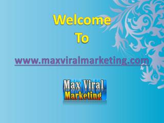 Max Viral Marketing resource for busy marketers