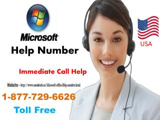 Clean up your system from all aspects call 1-877-729-6626 Microsoft Help Phone Number