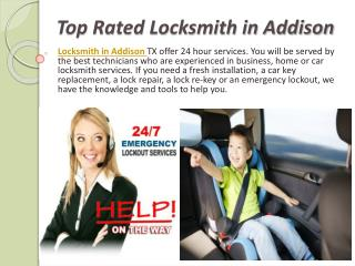 Top Rated Locksmith in Addison