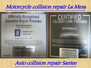 Auto collision repair Santee