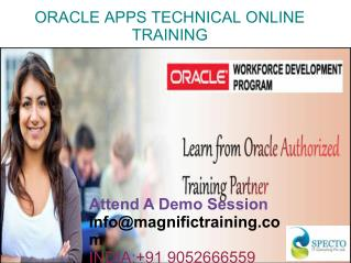 online Oracle Apps Technical Online Training