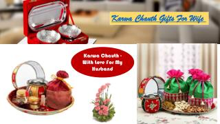 karwa chauth gift for wife