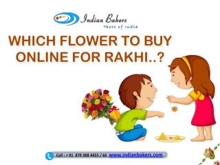 Which Flower to Buy Online for Rakhi?