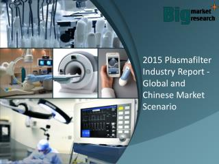 Plasmafilter Industry Report - Global and Chinese Market Scenario