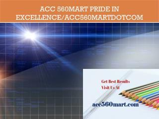 ACC 560MART Pride In Excellence/acc560martdotcom