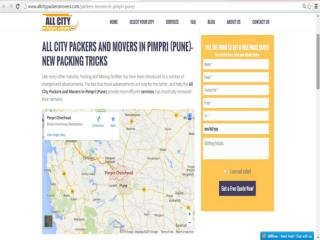 All City Packers and Movers in Pimpri (Pune) - New Packing Tricks