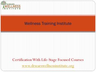 Become a wellness Leader with Smart Wellness Training