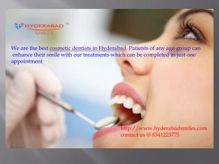 Cosmetic Dentists in Hyderabad | Best Cosmetic Dentists
