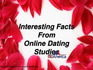 Interesting results from Online Dating Studies