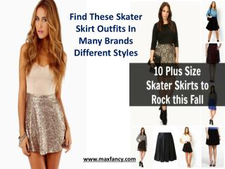Find These Skater Skirt Outfits In Many Brands Different Styles