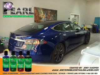 It must be the way to protect your car with Pearl Nano Coatings.